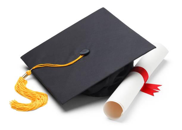 cap, tassle, diploma image