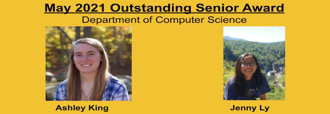 outstanding senior award recipient photos